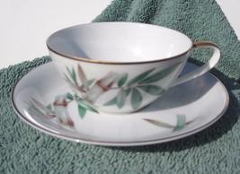 Noritake Canton 5027 cup and saucer set  Bamboo... - $16.25
