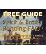 FREE GUIDE! Spirit Entity Bonding FAQ's from A_... - $0.00