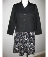 Bedford Fair Two Piece Dress Suit Size 16 Petite - $27.00