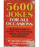 5600 Jokes For All Occasions by Mildred Meiers ... - $4.99