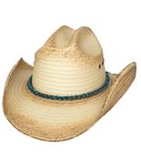 Bullhide All Eyes On You Palm Leaf Straw Cowgir... - $47.00