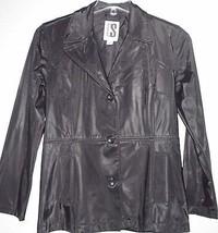 NICE WOMEN'S CS SIGNATURE SOLID BLACK VINYL RA... - $19.99