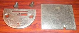 Singer 66-18 SS Throat Plate #32602 & Slide Pla... - $15.00