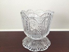 RareVintage Avon Crystal Diamond Cut Flower Pan... - $23.03