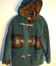OutBrook Womens Size: L Large Navajo Suede Leat... - $79.98