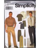 Simplicity 9469 - Mens Shirt, Pants or Shorts, ... - $5.00