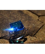 Haunted spirit whispering ring with male dragon... - $180.00