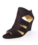 NIB Via Spiga Fion Womens Suede Wedge  Shoes Sa... - $118.75