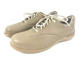 womens tan ARAVON shoes soft leather oxford new... - $32.71