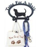 Dog Leash Hook - Basset Hound (Time for a Walk) - $24.74
