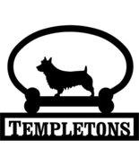 Australian Terrier Custom House Sign One Line - $98.99