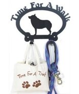 Schipperke Time For A Walk Leash Hook - $24.74