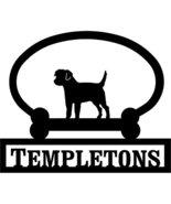 Border Terrier Custom House Sign One Line - $98.99