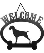 Welcome Sign German Wire-Hair Pointer - $24.74
