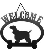 Welcome Sign English Cocker Spaniel - $24.74