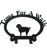 Schnoodle Dog Leash Holder Time for a Walk - $24.74