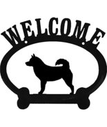 Alaskan Malamute Metal Welcome Sign - $24.74