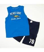 Boys Sz 4 5 Summer 2pc Outfit Carter's Scuba Ta... - $5.99