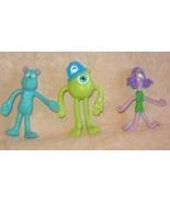 Lot Of 3 Kelloggs Disney Pixar Monsters  Inc Be... - $10.00
