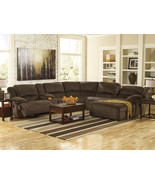 AVERY-6pcs Microfiber Power Recliner Sofa Couch... - $2,186.75