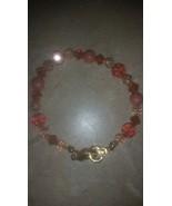 Swarovski Swan Signed Crystal Beaded Bracelet P... - $45.00