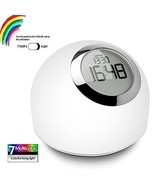 Digital Alarm Clock Bedside Dimmable LED Touch ... - $65.06