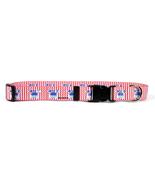 Crab Crazy Standard Dog Collar (Medium 3/4