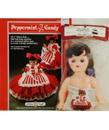 Fibre Craft Pillow Doll and Peppermint Candy Cr... - $17.00