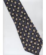 Giorgio Armani Cravatte Tie - Blueish Gray, Whi... - $24.00