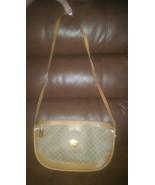 Vintage Signature Gucci Tan Brown Purse Hobo Sh... - $165.00