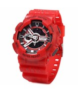 New Men's Red Dual Function Sports Watch - $15.84