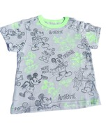 NWT Disney Store Mickey Mouse Gray Green Charac... - $14.99