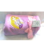 NWT Disney Store Rapunzel Fleece Throw Blanket ... - $22.99