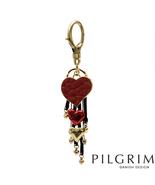 PILGRIM SKANDERBORG, DENMARK Heart Key Ring in ... - $35.00