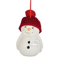 Department 56 Snow Pinions Hello My Name is Orn... - $13.97