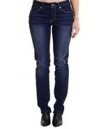Sz 6 Jag Jeans Lucy Slim in Blue Elvis Dark Was... - $29.70