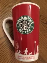 STARBUCKS COFFEE MUG HOLIDAY TALL 2006 MICROWAV... - $19.68