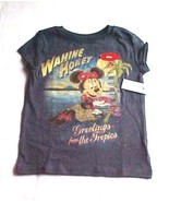 NWT Disney Store Blue Hawaiian Tropics Minnie M... - $14.99