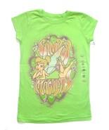 NWT Disney Tinker Bell Fairy Green Shirt Girls ... - $14.99