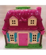 Battat Li'l Woodzeez Countryside Cottage Pink C... - $18.69