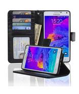 Navor Samsung Galaxy Note 4 Book Style Folio Wa... - $13.50