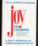 The Joy of Cooking HB 1975 The All Purpose Cook... - $8.99
