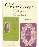 Vintage Tatting and Crochet Repro Two Books Lad... - $8.99