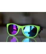 Classic Tortoise Sunglasses Neon Lemon Yellow/ ... - $14.00