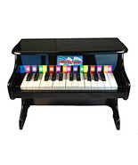 25 Key Toy Piano Black Kids Mini Tabletop Grand... - $52.46