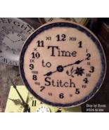 Time To Stitch cross stitch chart Needlework Press - $8.00
