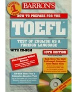How to Prepare for the TOEFL Test by Sharpe 076... - $28.41