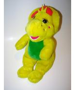 Vtg Barney Friend BJ Dinosaur Yellow Plush Stuf... - $10.99