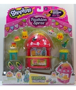 Shopkins Fashion Spree Tropical Collection Seas... - $19.95