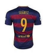 Suarez Barcelona Home Jersey 2016 - $29.99